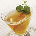 Mint Leaves 1 tsp granulated sugar splash of water 2oz brandy 1 oz peach brandy Muddle mint leaves with sugar and water in a glass. Add brandy, peach brandy, and […]
