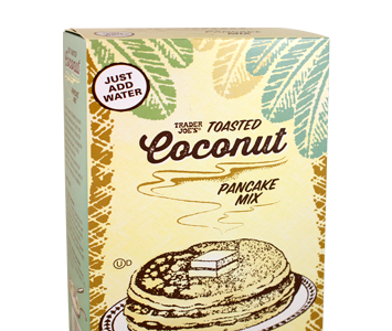 Walking through the aisles of Trader Joe's the other day, the Toasted Coconut Pancake Mix end-cap caught my eye. In a moment of weakness (I'm trying to drop a few […]